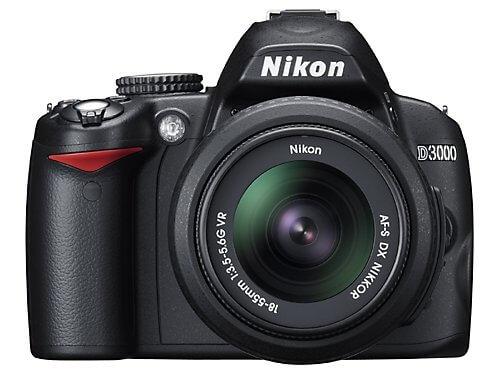 Nikon D3000 SLR Camera